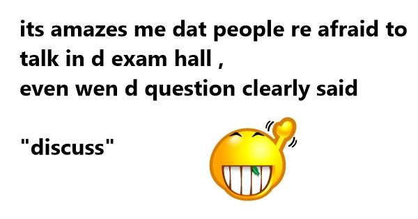 exam jokes one liners