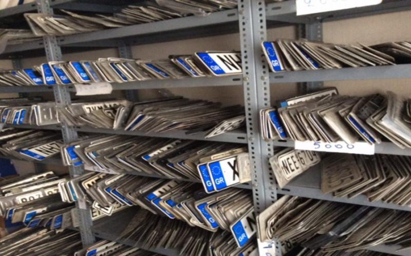 Προθεσμία έως τις 28 Φεβρουαρίου για κατάθεση πινακίδων