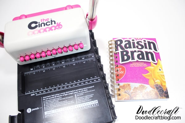 Make a notebook journal with The Cinch binder