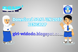 Download Soal UN SMP 2017 Lengkap