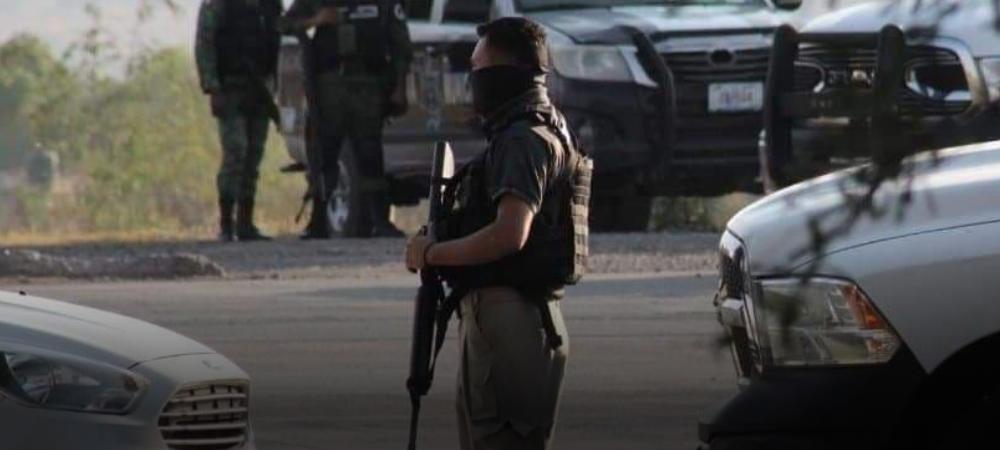 Seis Sicarios Abatidos deja enfrentamiento con agentes de la FGE en la comunidad de Obrajuelo en Apaseo el Grande; Guanajuato