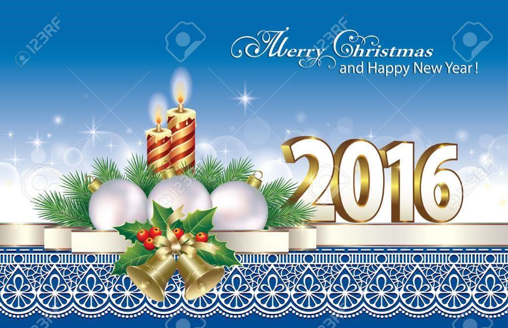 gambar ucapan hari natal dan tahun baru