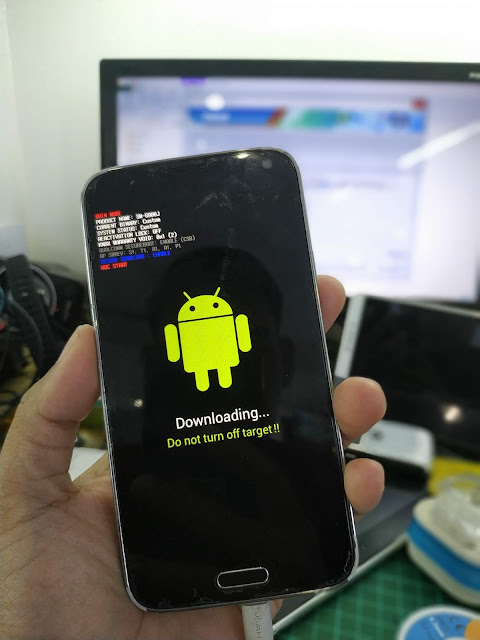 SAMSUNG GALAXY S5 LTE SCL23 STOCK ROM