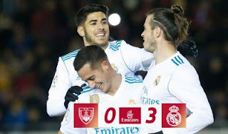 Real Madrid Menang di Kandang Numancia 3-0 Copa Del Rey