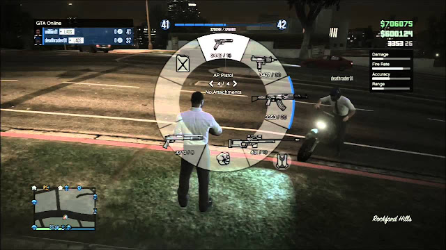 GTA V Weapons Cheat