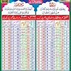 Ramadan calendar in Pakistan in  2021