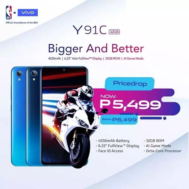 Vivo Y91C Gets a Price Drop