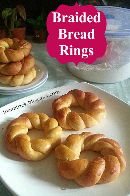 Braided Bread Rings Recipe @ treatntrick.blogspot.com