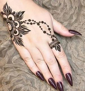 mehendi designs arabic easy