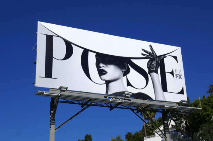 Pose season 2 hat billboard