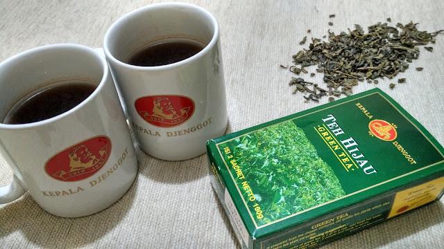 teh hijau kepala djenggot