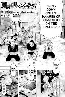 Read Tokyo Revengers Manga Chapter 196 English