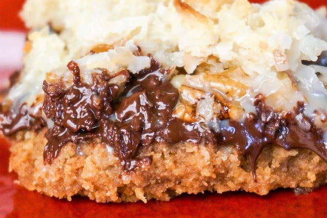 Hello Dolly Cookie Bars