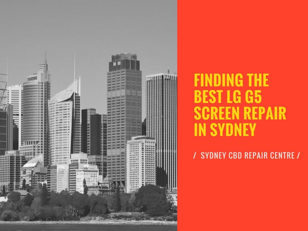LG G5 Screen Repair in Sydney