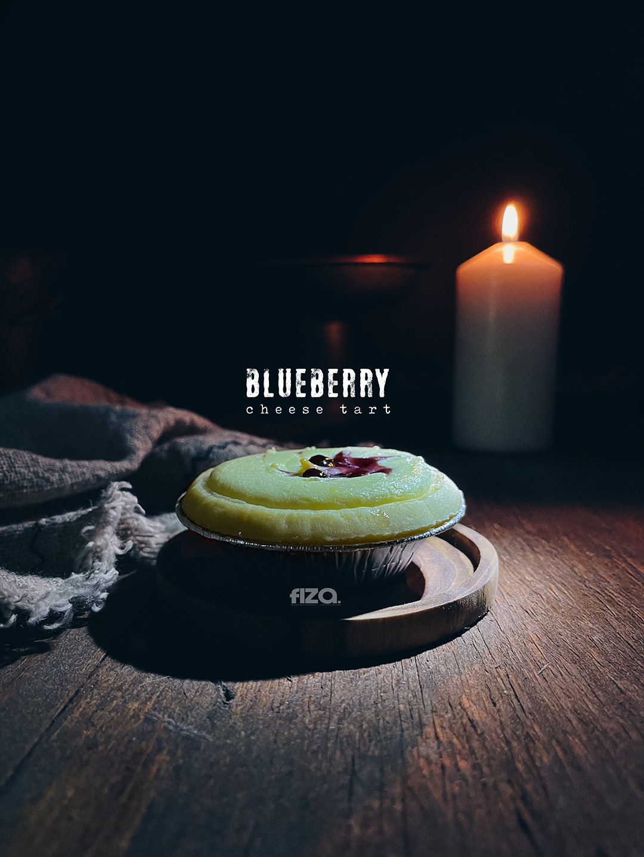 Blueberry Cheese Tart