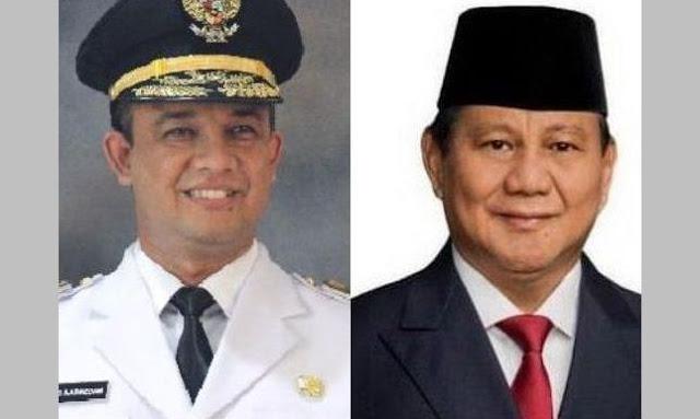 Prabowo Subianto vs Anies Baswedan di Pilpres 2024, Ini Pilihan Netizen