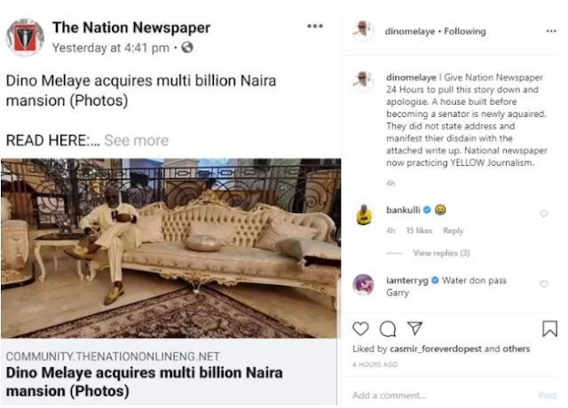 After Being Bashed Online, Dino Melaye Finally Reveals How He Built His Multi-million Naira Mansion (Photos)