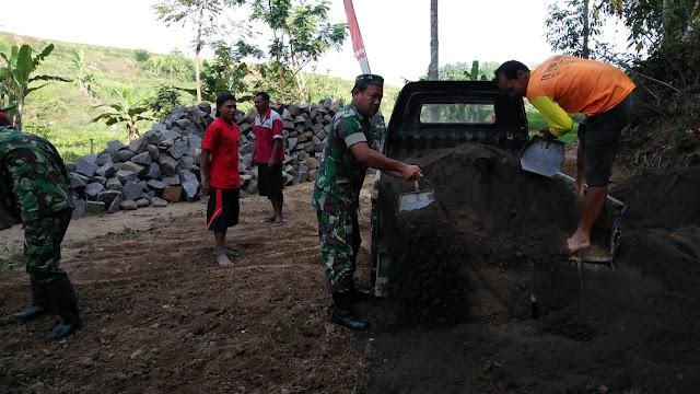 KodimKarangpandan - Pra TMMD Tahap III Desa Salam, Sejumlah Sasaran Non Fisik Mulai Dikerjakan