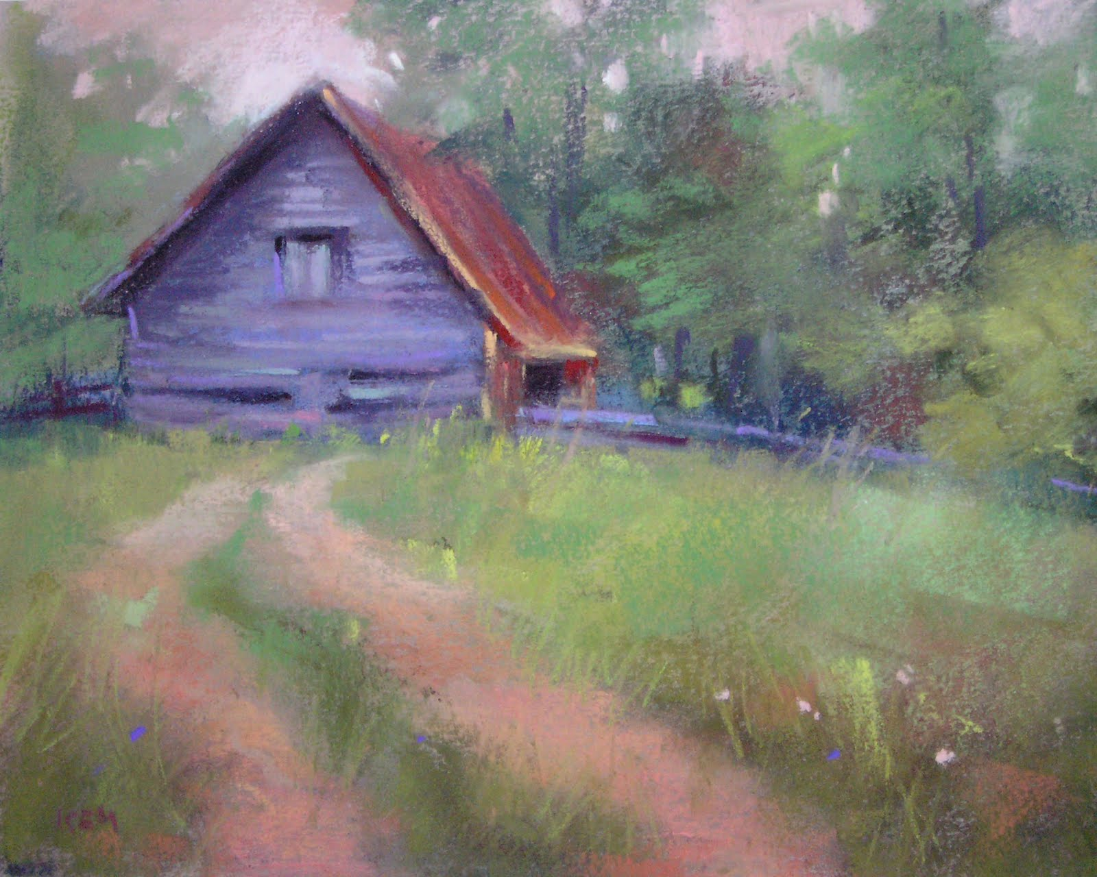 Pastel Landscape Paintings