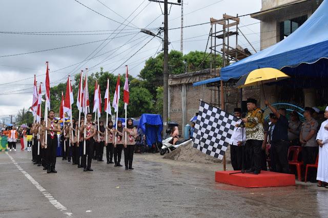 Pawai Taaruf MTQ dan FSQ Kota Sibolga 2020