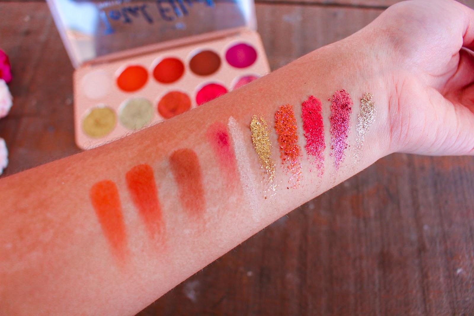 Resenha: Paletas de Sombras Glitz Glam Total Effect - Belle Angel