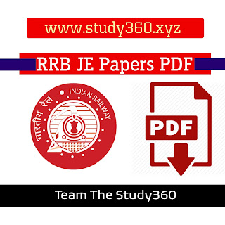RRB JE Exam 2019 All  Question Papers PDF Download Available