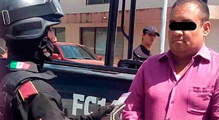 """""""El Conta"""" integrante del CJNG es capturado en Veracruz"""