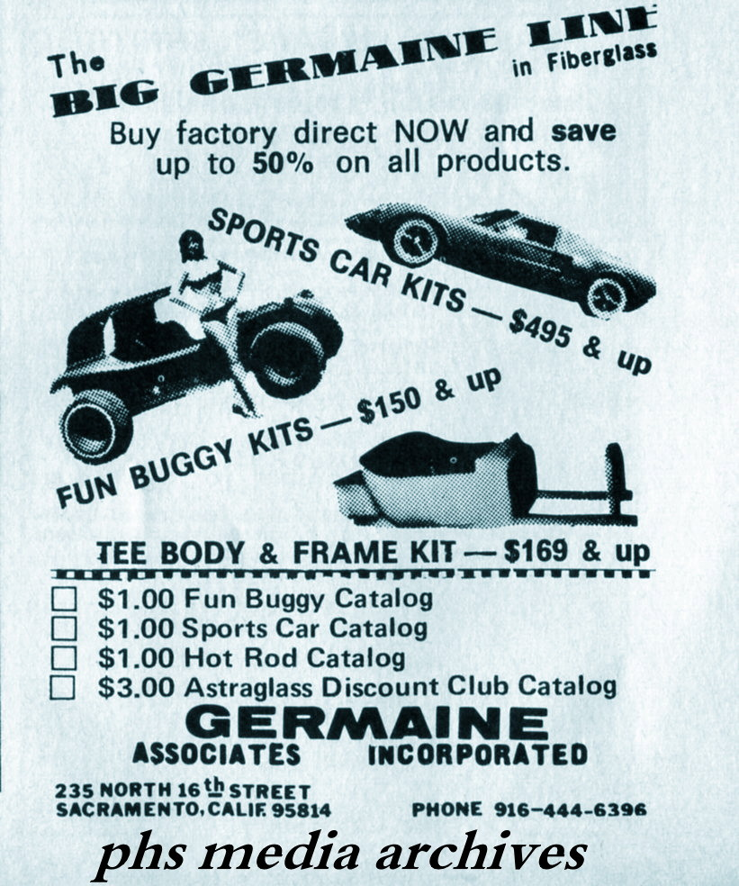 Summer Special On 1960s Dune Buggy Kits Phscollectorcarworld 1967 Vw Beetle Simple Wiring Diagram This Firm Likely Sold In Bulk To Smaller Vendors Claiming An Area The Sticks Do Not Be Surprised Find Your Is Actually A Germaine Kit With
