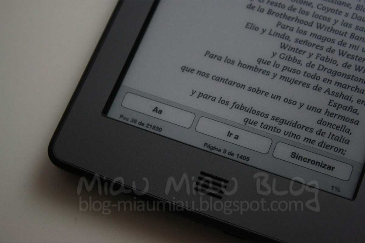 Formato De Libros Kindle Miau Miau Blog Kindle Touch Review