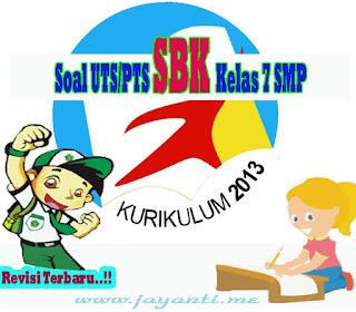 Download Soal UTS SMP SBK Kelas 7 Semester 2 ( Genap ) Revisi Terbaru