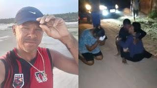 Feirante cai de barco durante pescaria e se salva nadando até a praia de Jericoacoara