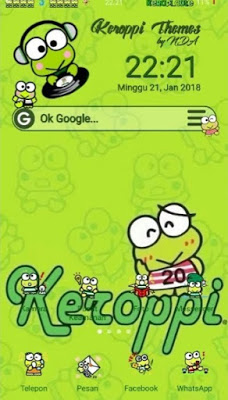 Download Tema Keroppi Oppo Oppo Product