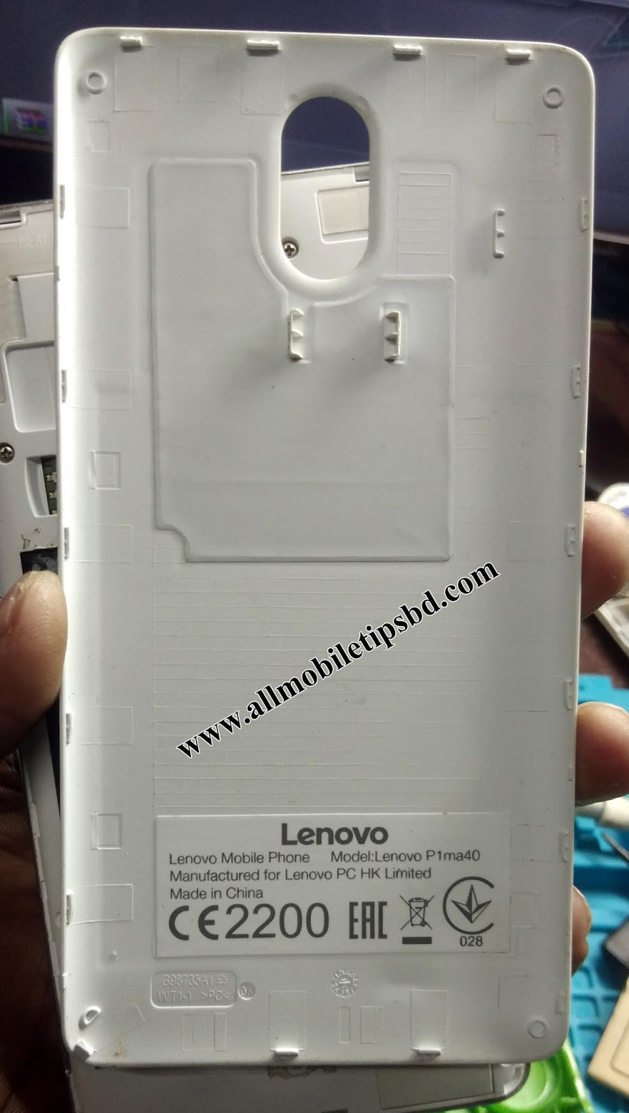 Lenovo P1ma40 Flash File Firmware Hang Logo FRP Dead