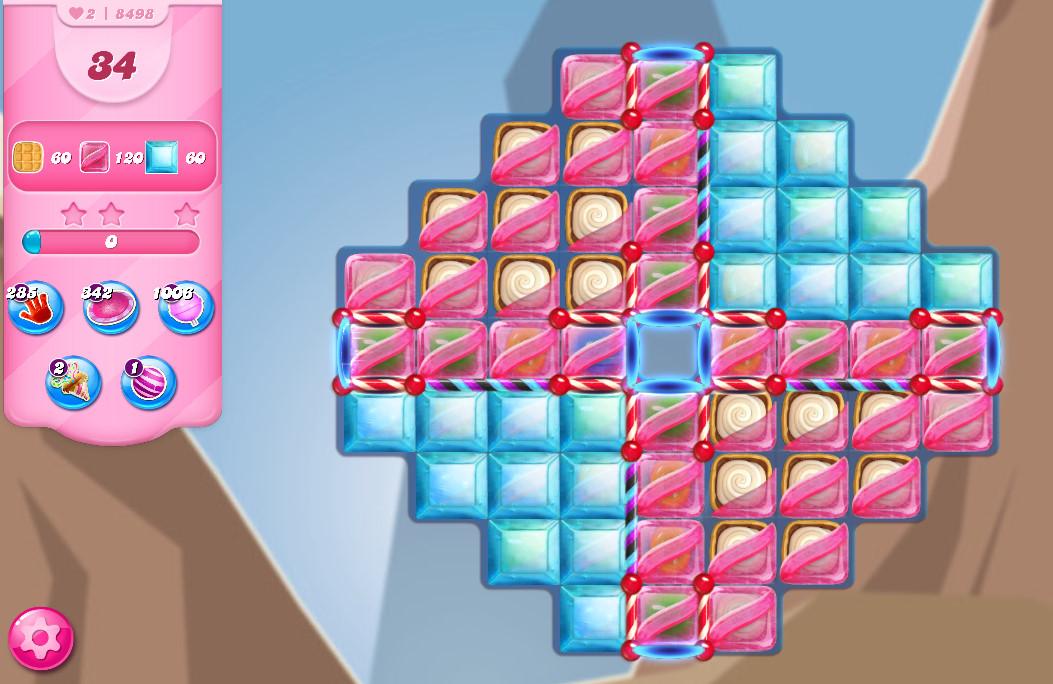 Candy Crush Saga level 8498