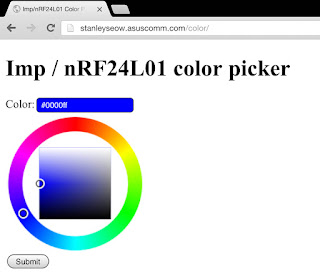 Imp on fully wireless ( wifi/RF ) combo RGB LED strip - Projects