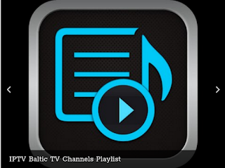 IPTV Baltic TV Channels Playlist