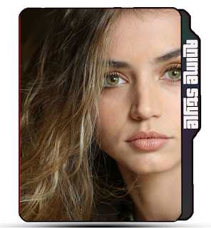 Ana De Armas, Celebrity, model, blonde girl Ana De Armas folder icon, Cute girl icon.
