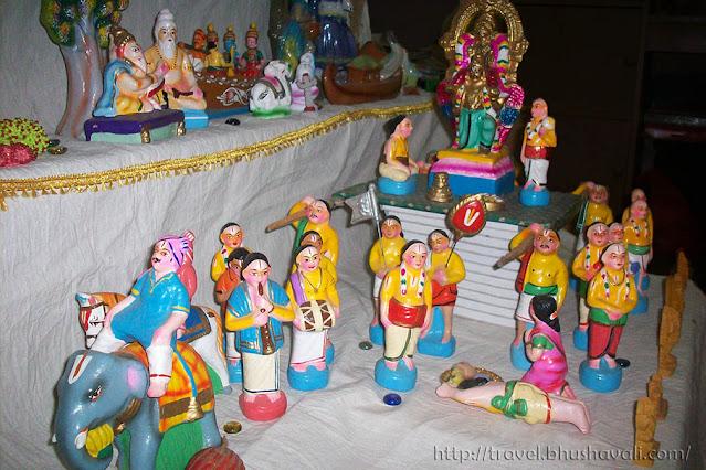 Navarathri Golu Kanchipuram Garuda Sevai