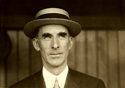 Connie Mack, manager for the Philadelphia Athletics