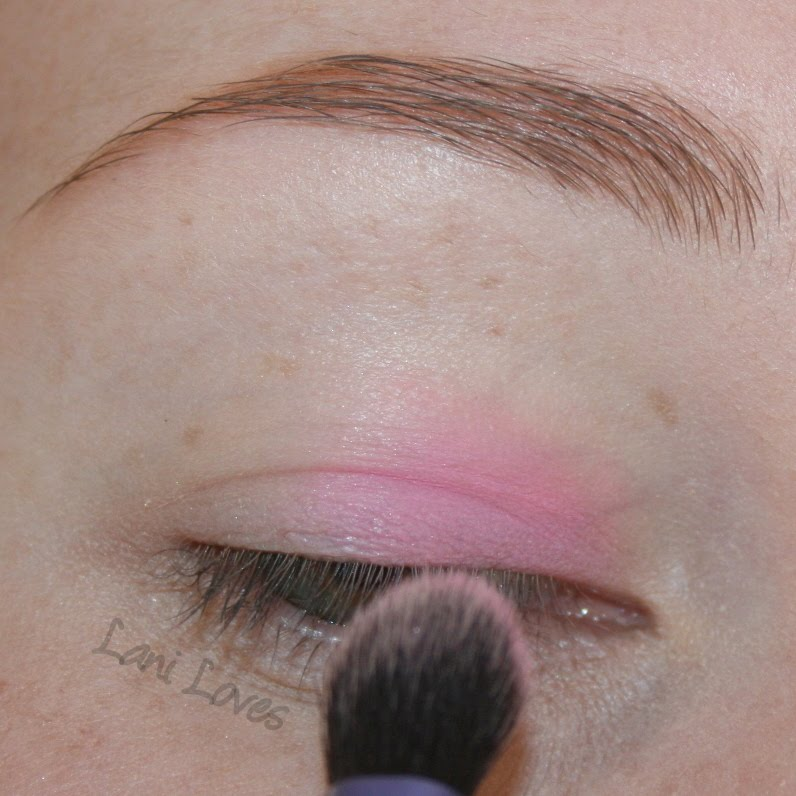Tutorial: Pastel Sorbet Eyes with Lime Crime Palette D'Antoinette