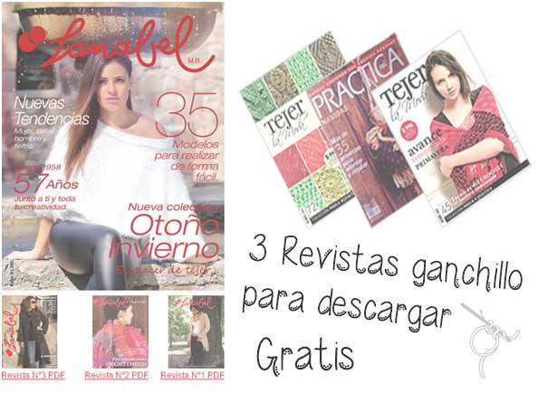 Revistas de ganchillo gratis con patrones para ambos sexos y niños