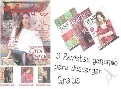 Revistas de ganchillo-tricot para ambos sexos