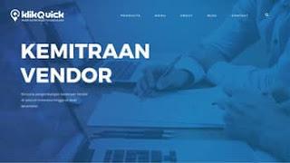 Pendaftaran Mitra Vendor KlikQuick