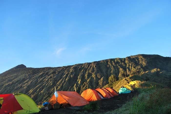 Camping di Gunung Rinjani