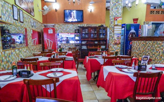 Restaurante Stambul, comida árabe, Copacabana, Rio de Janeiro