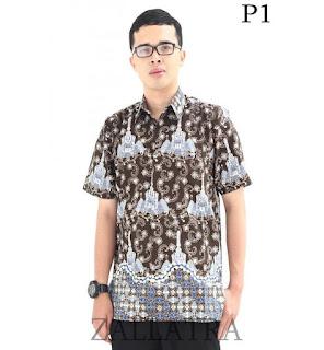 baju batik cowok 2018