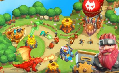 Wild TD Tower Defense in Fantasy Sky Kingdom v1.6.12 Hileli Mod
