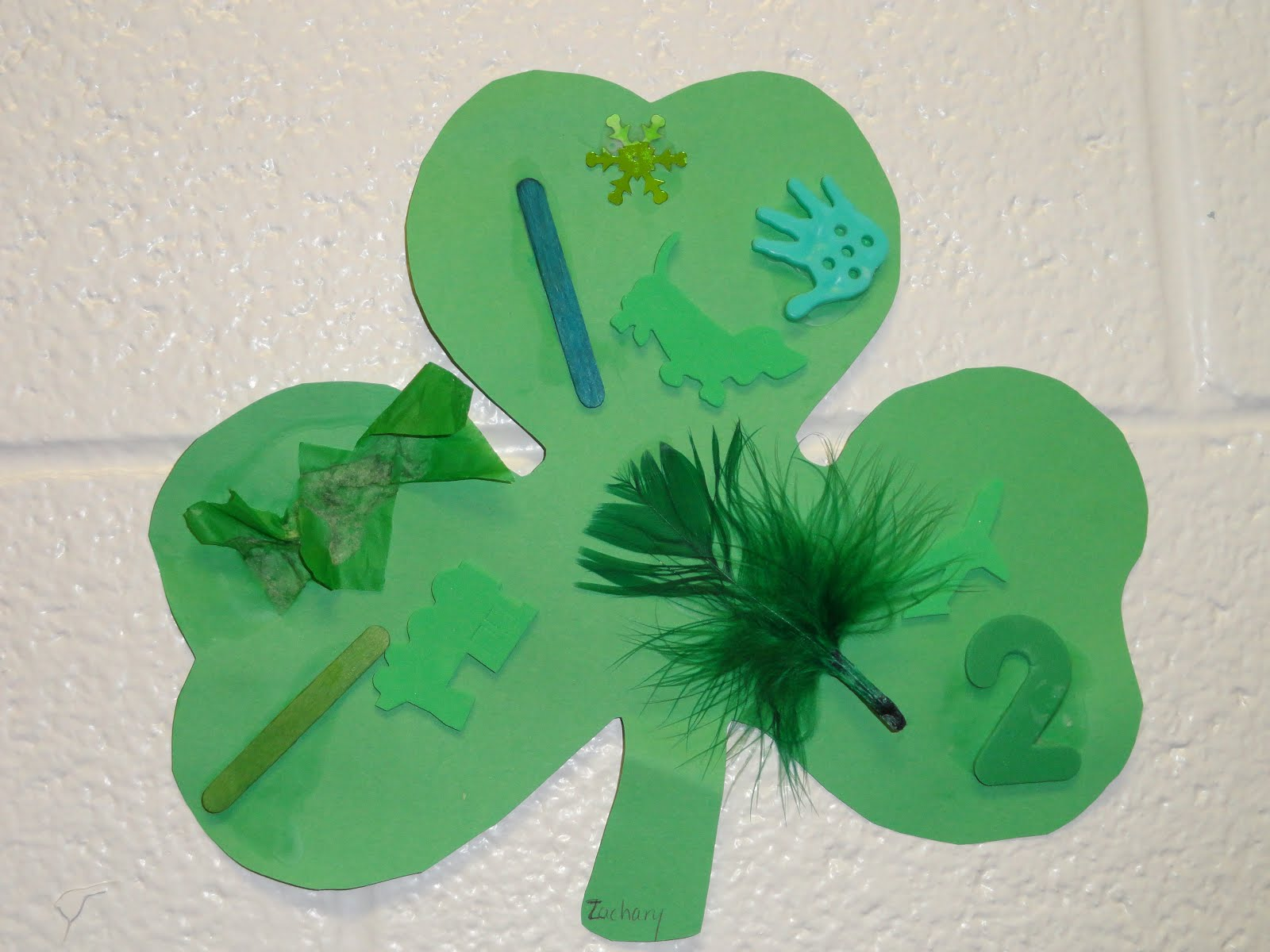 Preschool Crafts For Kids St Patrick S Day Texure