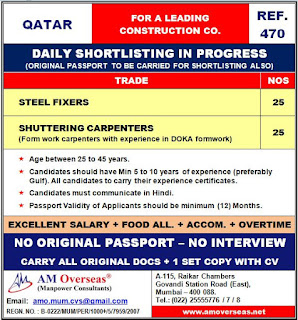Leading Construction Company in Qatar