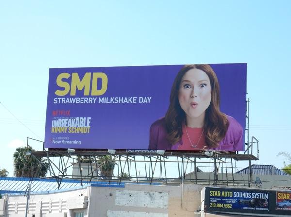 SMD Kimmy Schmidt season 2 billboard